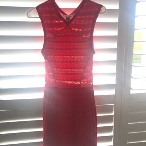 Red mission dress